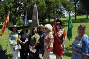 Descendants with State Regent Pamela Wright