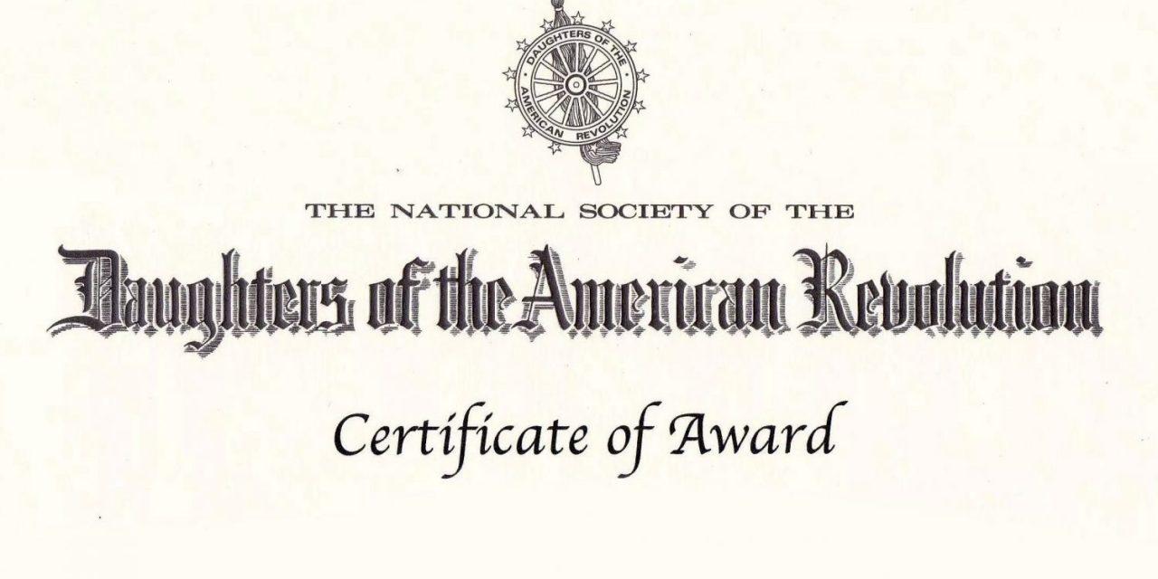 Texas Armed Services Awards Presentation