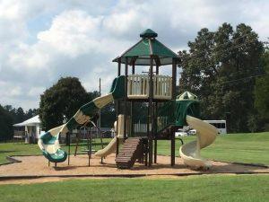 Tamassee Playground Centerpiece