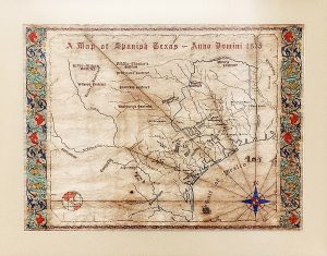 Restored Map of Spanish Texas