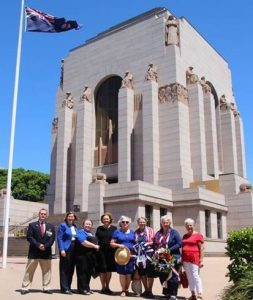 Wreath Placed In Australia