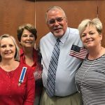 Colonel George Moffett Chapter Attends Naturalization Ceremony