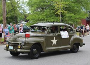 Memorial Day Parade Antique Car